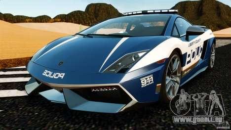 Lamborghini Gallardo LP570-4 Superleggera Police für GTA 4
