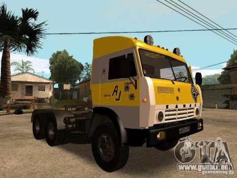 KAMAZ 5410 für GTA San Andreas Innen