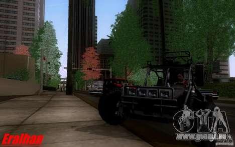 Desert Patrol Vehicle pour GTA San Andreas laissé vue
