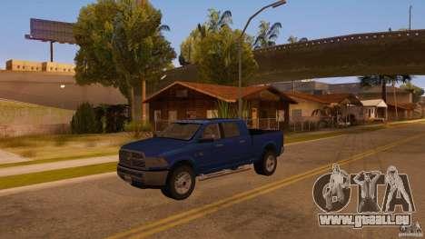 Dodge Ram 2500 HD 2012 pour GTA San Andreas