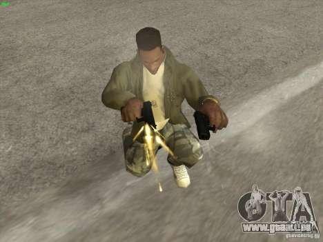 Pistolet G18 pour GTA San Andreas deuxième écran