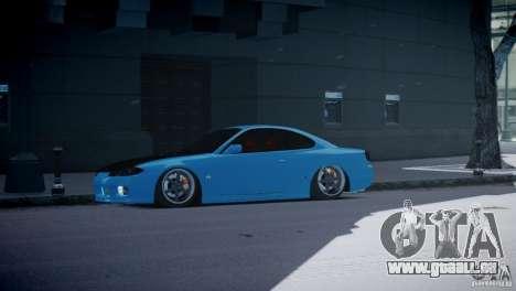 Nissan Silvia S15 JDM pour GTA 4 est une gauche