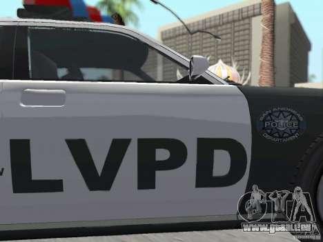 GTA 4 TBoGT von Buffalo für GTA San Andreas Seitenansicht