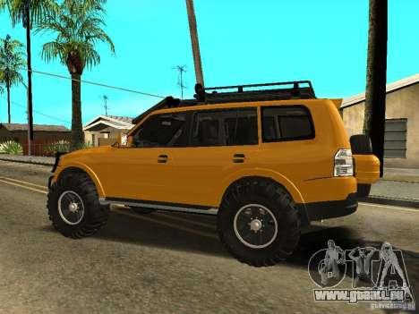 Mitsubishi Pajero OffRoad v2 für GTA San Andreas linke Ansicht