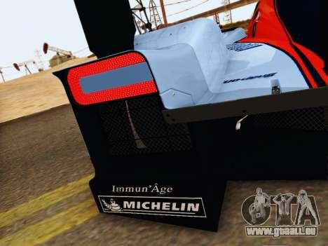 Aston Martin DBR1 Lola 007 für GTA San Andreas obere Ansicht