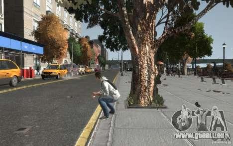 Desmond Miles de AC3 pour GTA 4 cinquième écran
