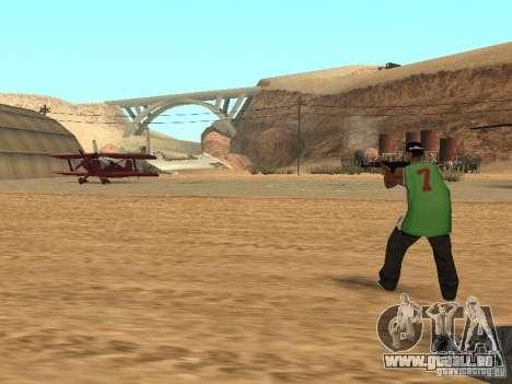 Alliés intellectuelle pour GTA San Andreas troisième écran