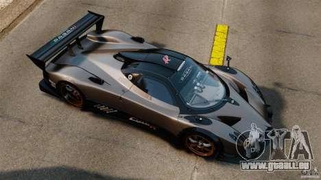 Pagani Zonda R 2009 für GTA 4 rechte Ansicht