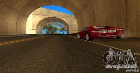 Ferrari 512TR pour GTA San Andreas laissé vue