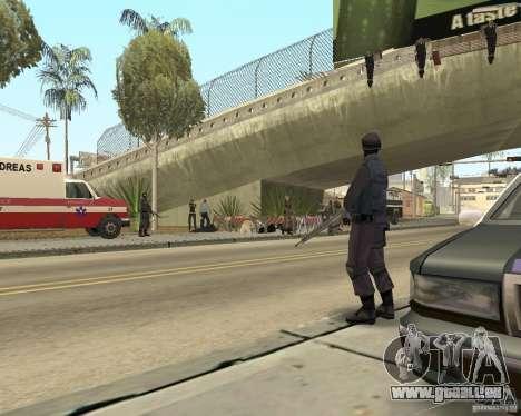 Scène du crime (scène de Crime) pour GTA San Andreas troisième écran