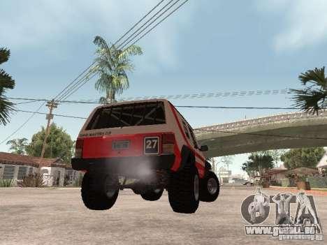 Jeep Cherokee 1984 pour GTA San Andreas vue de droite