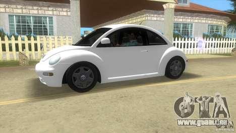 VW New Beetle pour une vue GTA Vice City de la gauche
