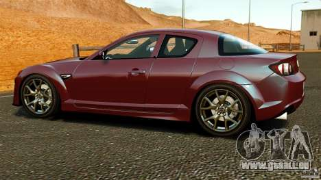 Mazda RX-8 R3 2011 pour GTA 4 est une gauche