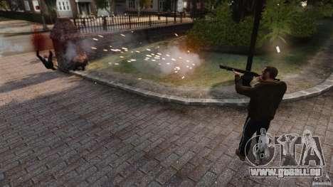 Les véritables dégâts des armes pour GTA 4