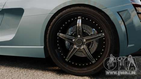 Audi R8 Spider Body Kit pour GTA 4 Vue arrière