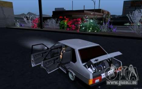 VAZ 21099 Vip Style pour GTA San Andreas laissé vue