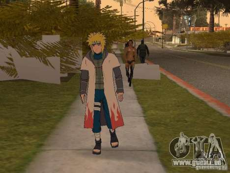 Skin Pack From Naruto pour GTA San Andreas