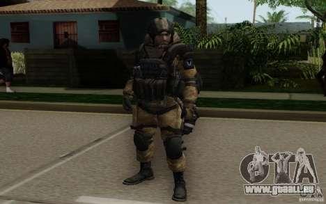 Le médecin de Warface pour GTA San Andreas