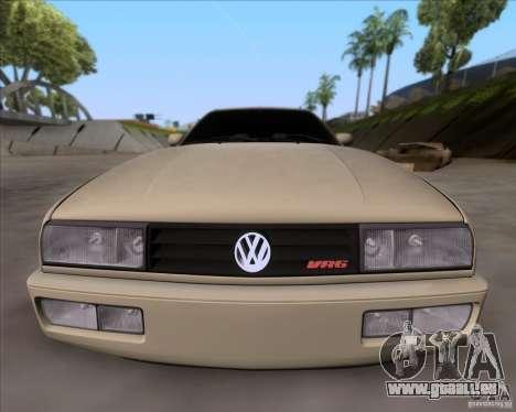 Volkswagen Corrado VR6 1995 pour GTA San Andreas vue intérieure