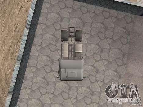 Iveco Stralis GTS pour GTA San Andreas vue de droite