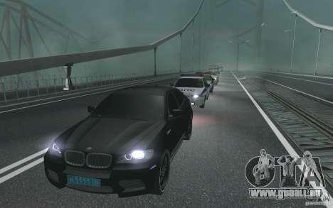 Le cortège présidentiel v. 1.2 pour GTA San Andreas deuxième écran