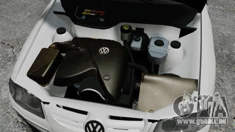 Volkswagen Parati G4 PMESP ELS pour GTA 4 est une vue de l'intérieur