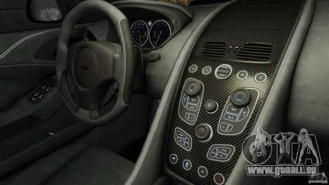 Aston Martin Vanquish 2013 pour GTA 4 Vue arrière