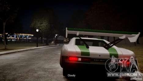 Dukes City-Drag für GTA 4 hinten links Ansicht