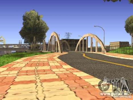 New Los Santos pour GTA San Andreas cinquième écran