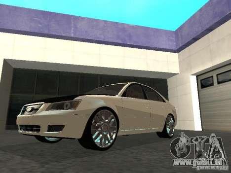 Hyundai Sonata 2008 für GTA San Andreas