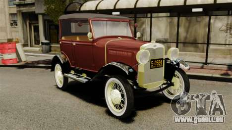 Ford Model T 1926 pour GTA 4