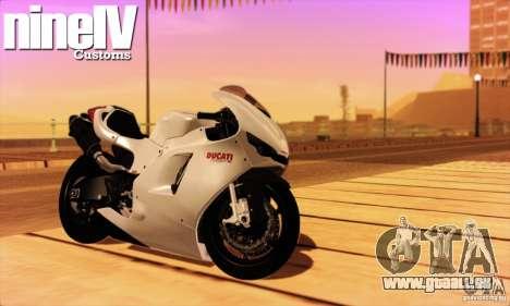 Ducati Desmosedici RR 2012 für GTA San Andreas