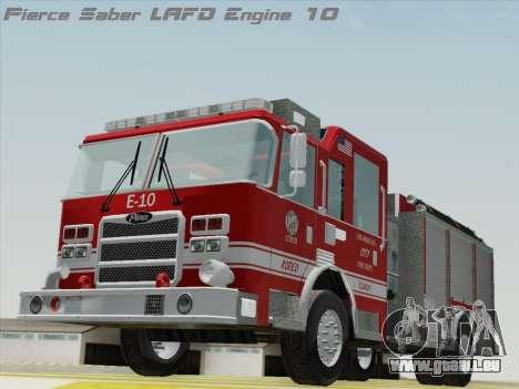 Pierce Saber LAFD Engine 10 pour GTA San Andreas