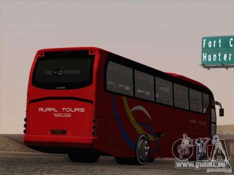 Neoplan Tourliner. Rural Tours 1502 für GTA San Andreas Räder