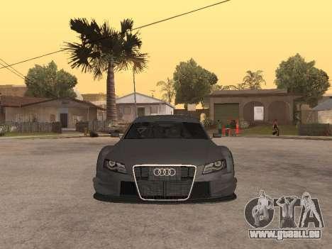 Audi A4 Touring pour GTA San Andreas laissé vue