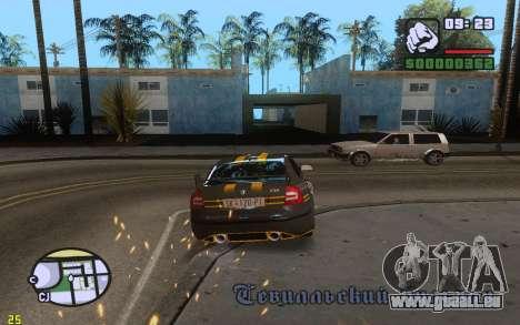ENBSeries By VadimSpiridonov v.0.2 pour GTA San Andreas deuxième écran