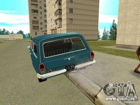 GAZ Volga 24-12 für GTA San Andreas rechten Ansicht