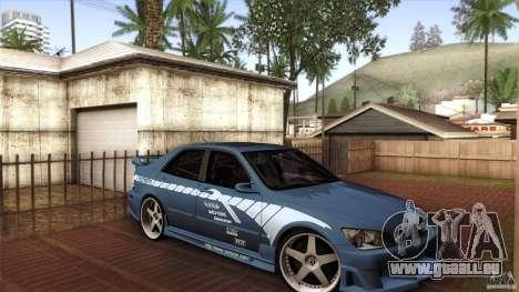 Lexus IS 300 Veilside pour GTA San Andreas