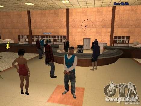 Employés de la Mairie de Skin Pack pour GTA San Andreas