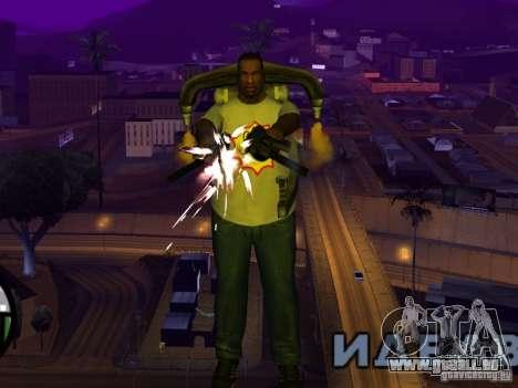 Nouveau t-shirt pour GTA San Andreas quatrième écran