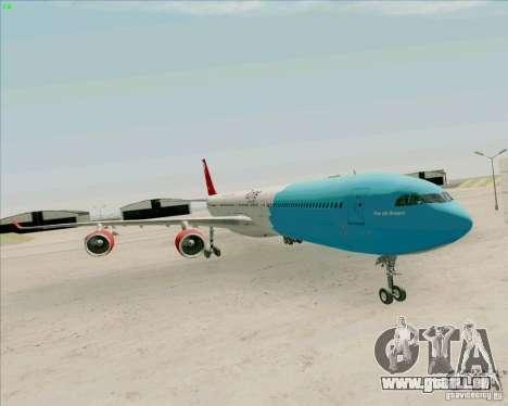 Airbus A-340-600 Plummet für GTA San Andreas