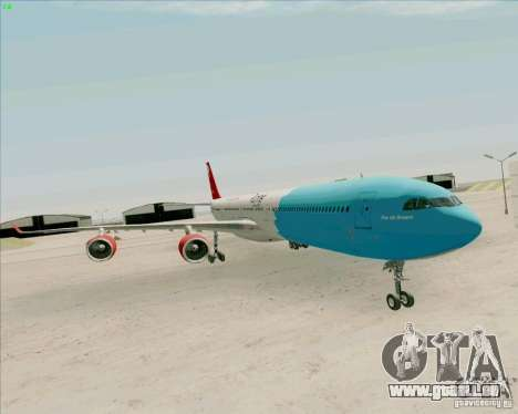 Airbus A-340-600 Plummet pour GTA San Andreas