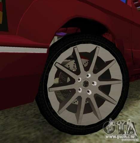 Huntley Freelander für GTA San Andreas obere Ansicht