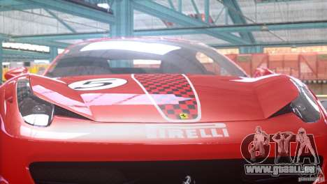 Ferrari 458 Italia 2010 Autovista für GTA 4 rechte Ansicht