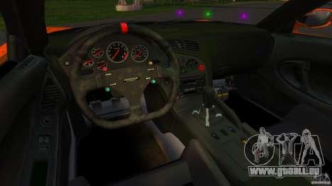 Mazda RX-7 Veilside Tokyo Drift pour GTA 4 Vue arrière