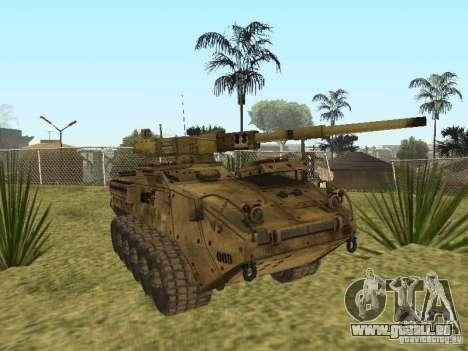 BMTV M1128 MGS pour GTA San Andreas vue arrière