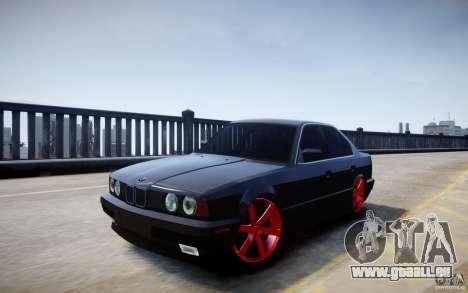 BMW 535i für GTA 4 Rückansicht