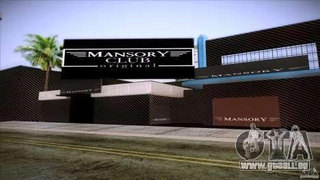 Mansory Club Transfender & PaynSpray für GTA San Andreas