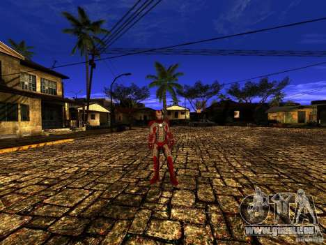 Iron Man 3 Mark V für GTA San Andreas dritten Screenshot