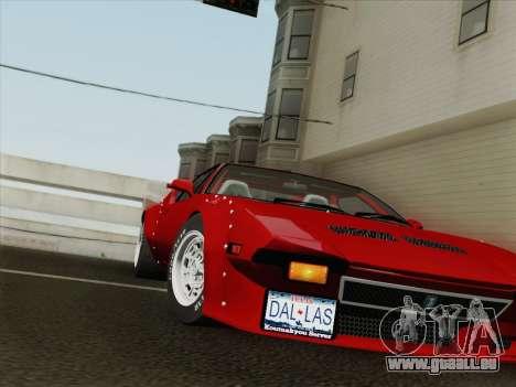 De Tomaso Pantera GT4 für GTA San Andreas Seitenansicht